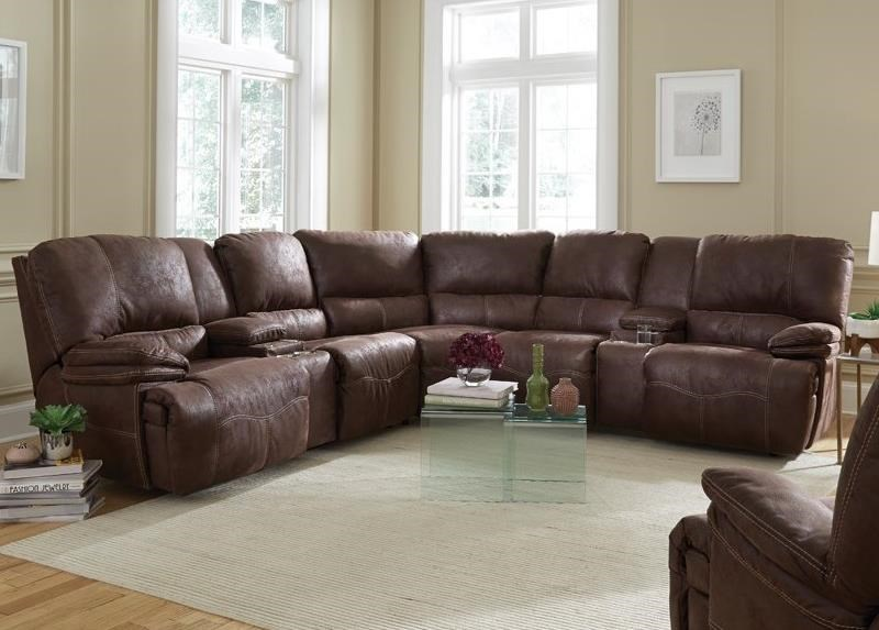 Boulder Power Reclining Sectional by Franklin at Catalog Outlet