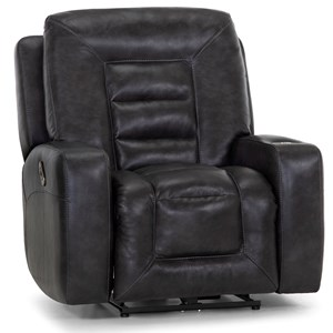 Rocker Recliner with Cupholder