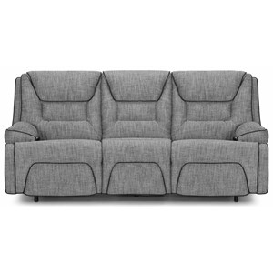 Power Reclining Sofa with Pillow Arms