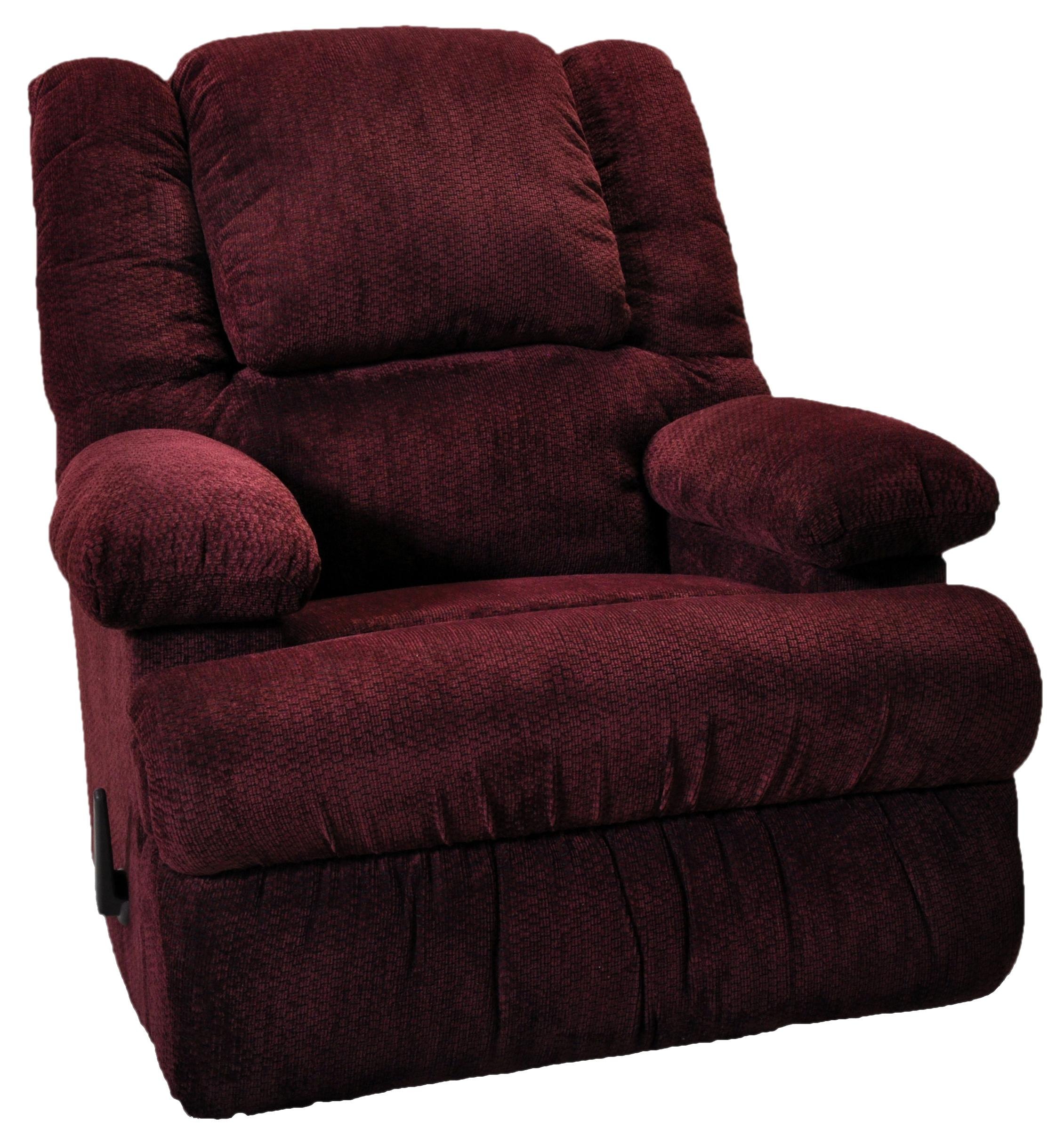 Clayton Chaise Rocker Recliner by Franklin at Wilcox Furniture