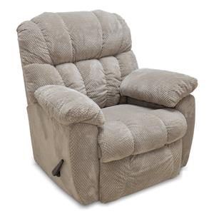 Chase Rocker Recliner with Pillow Arms