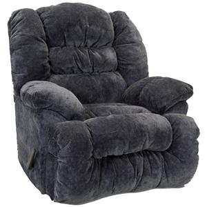 Chaise Power Rocker Recliner with Integrated USB Port
