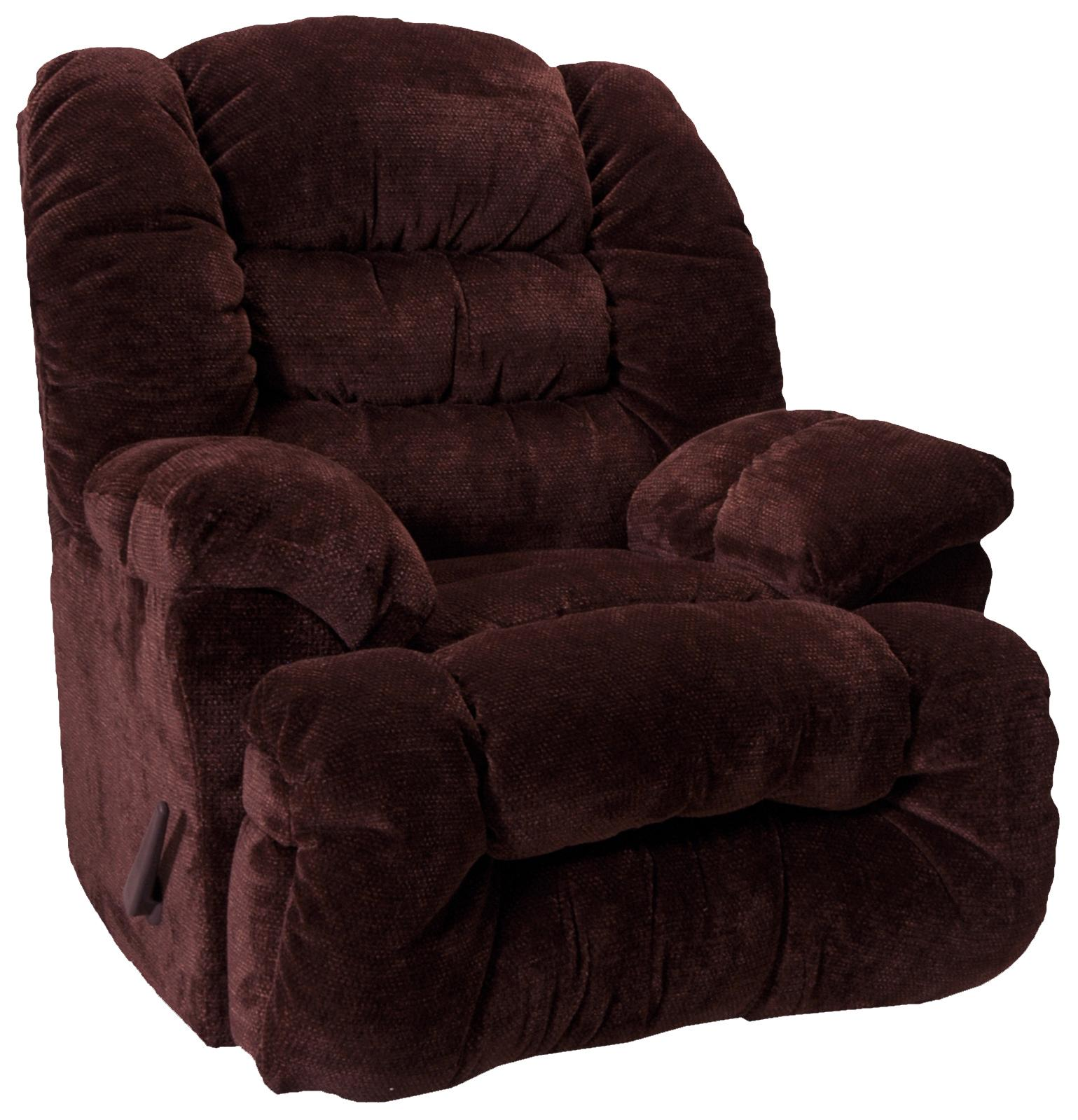 Rocker Recliners Chaise Rocker Recliner by Franklin at Wilcox Furniture