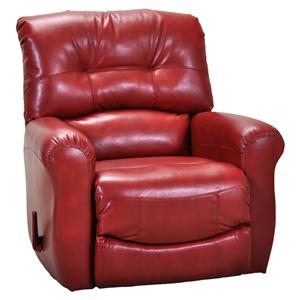 Franklin Rocker Recliners Contemporary Rocker Recliner