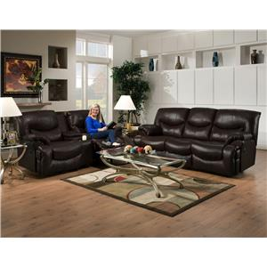 Franklin Challenger Reclining Living Room Group