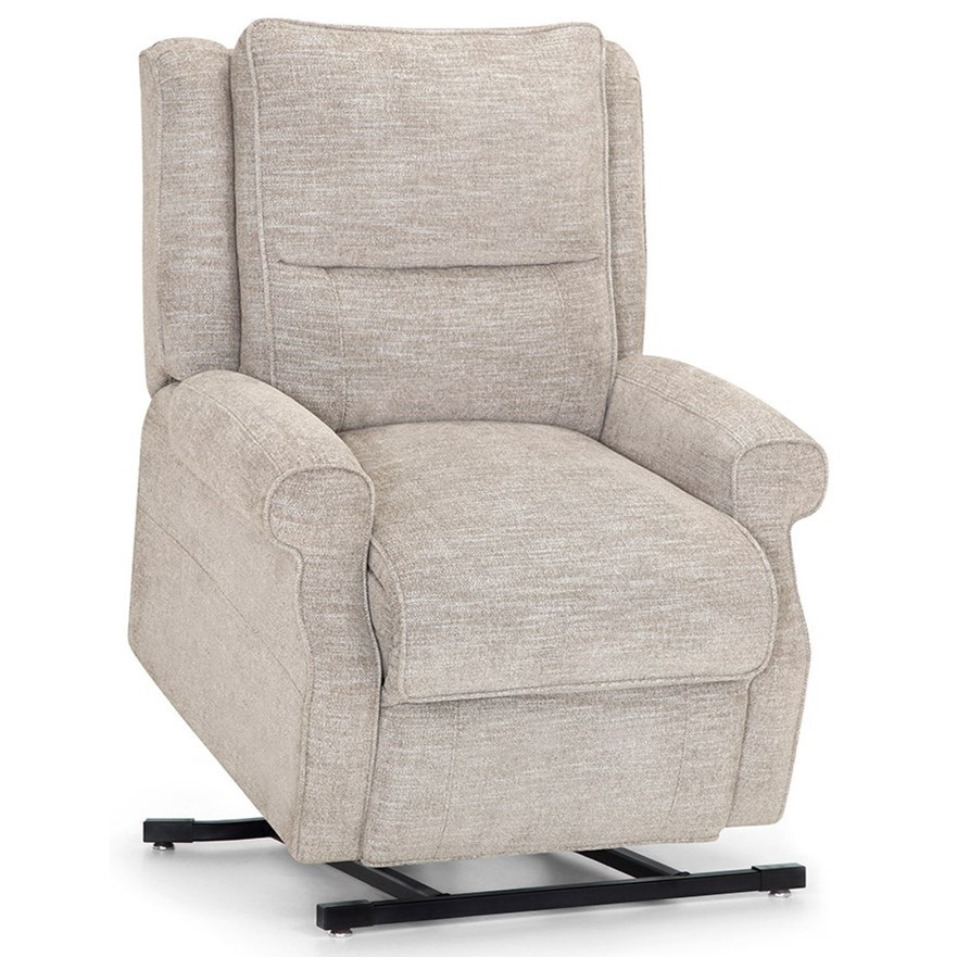 Charles Lift Recliner with Heated Seat and Massage by Franklin at Wilcox Furniture