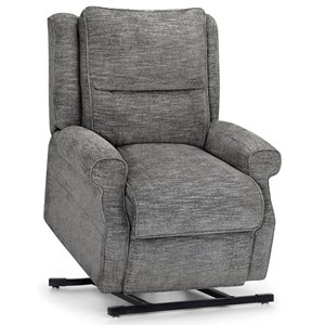 Casual Lift Recliner with Heated Seat, Back Massage, and USB Port
