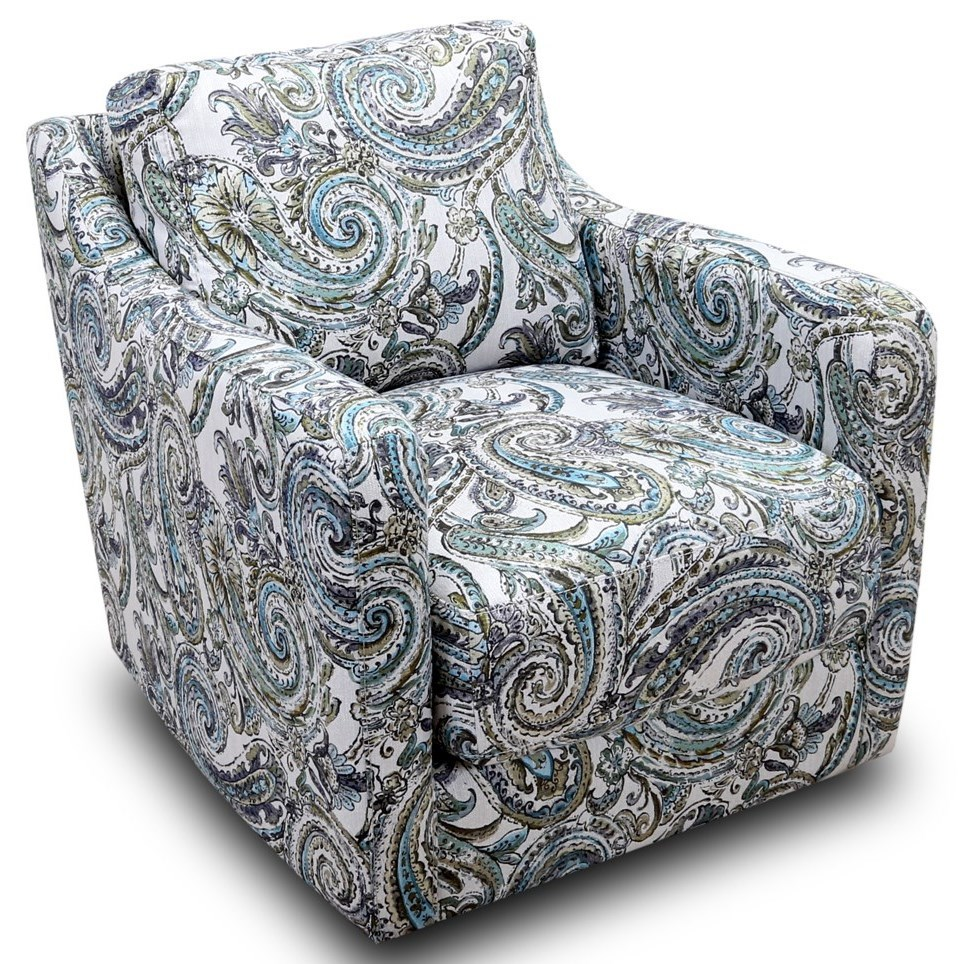 Chelsea Swivel Accent Chair by Franklin at Lagniappe Home Store