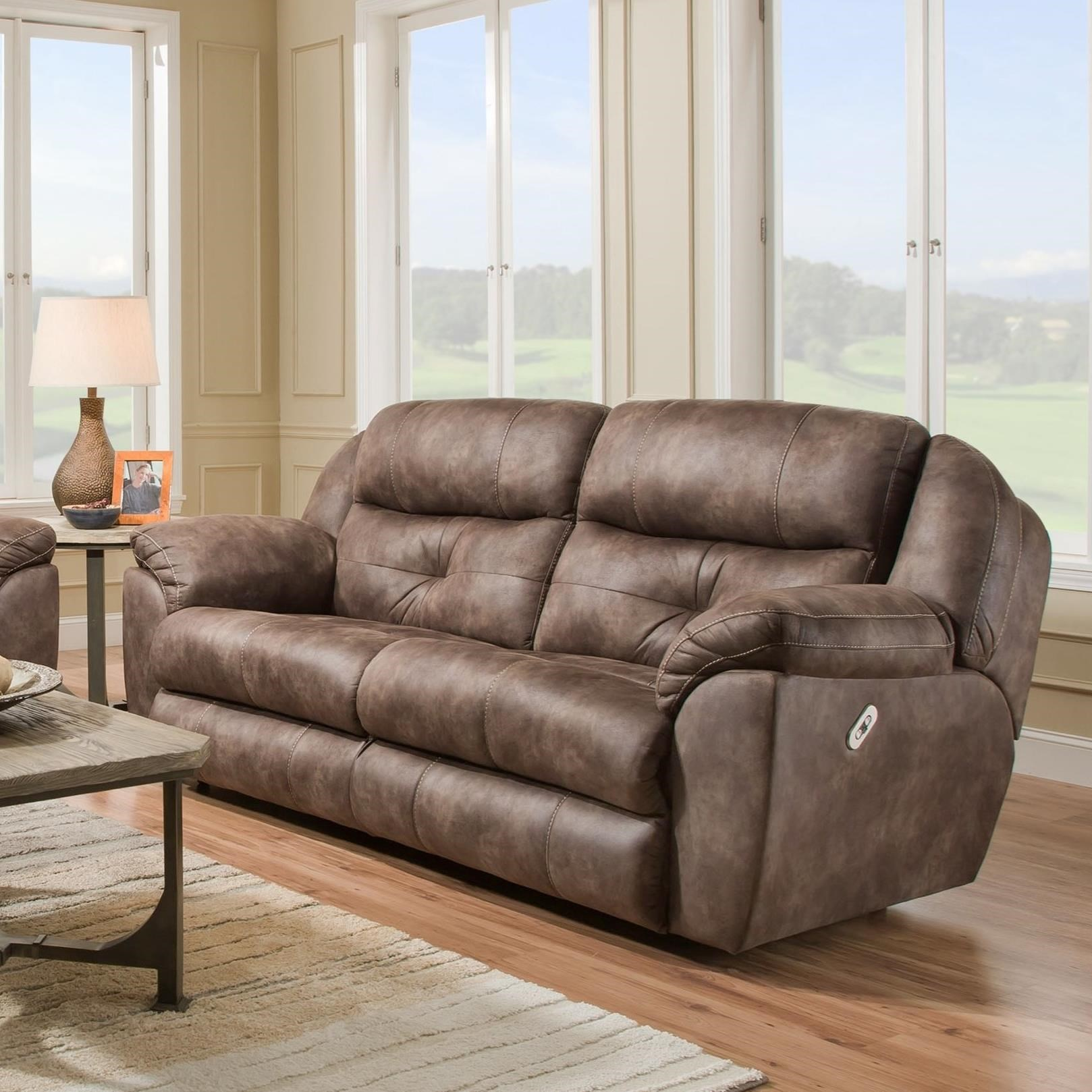 Conway Power Recline Two Seat Sofa by Franklin at Catalog Outlet