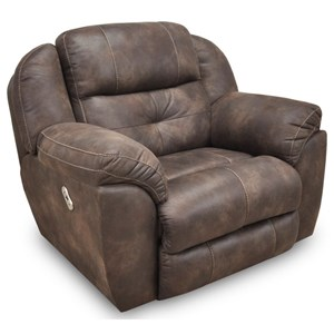 Power Recline Chair and a Half with Power Adj Headrest and USB Port