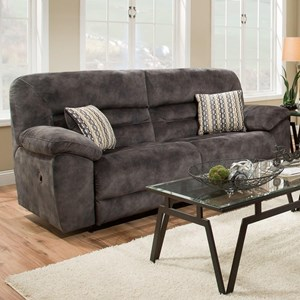 2-Seat Power Reclining Sofa with USB Port