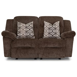 Casual Power Rocking Reclining Loveseat with USB Port
