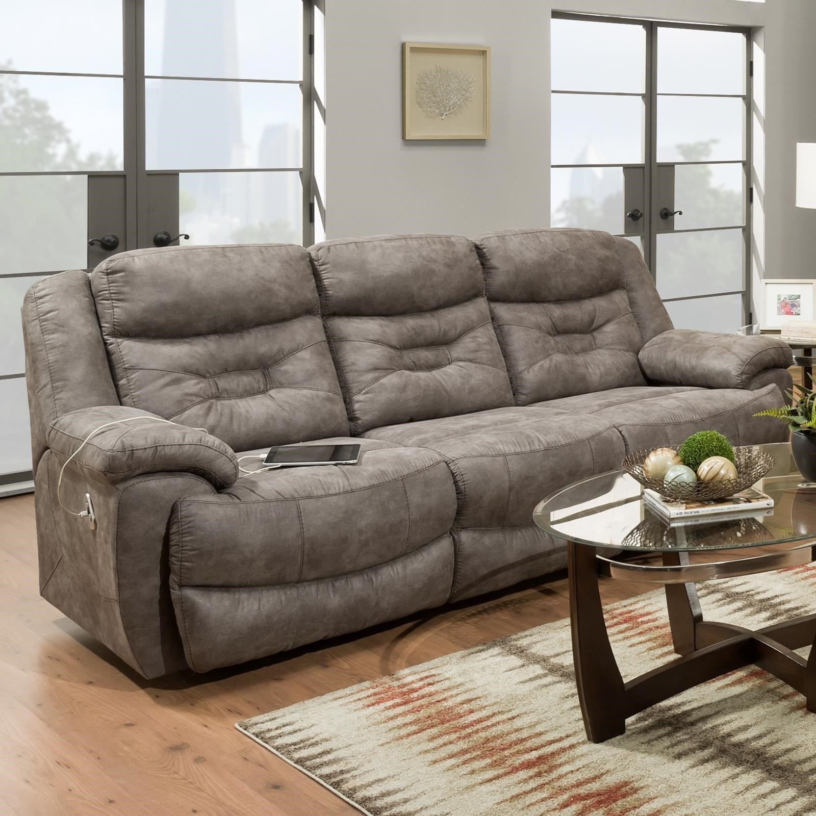 Endeavor Power Reclining Sofa  by Franklin at Catalog Outlet