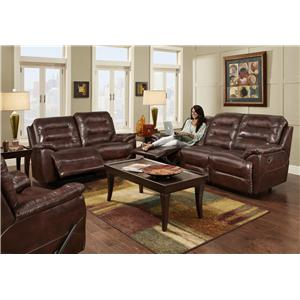 Franklin Freedom Reclining Living Room Group