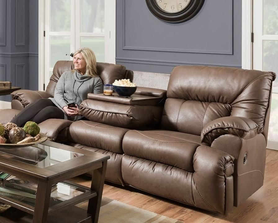 Hector Power Reclining Sofa by Franklin at Wilcox Furniture