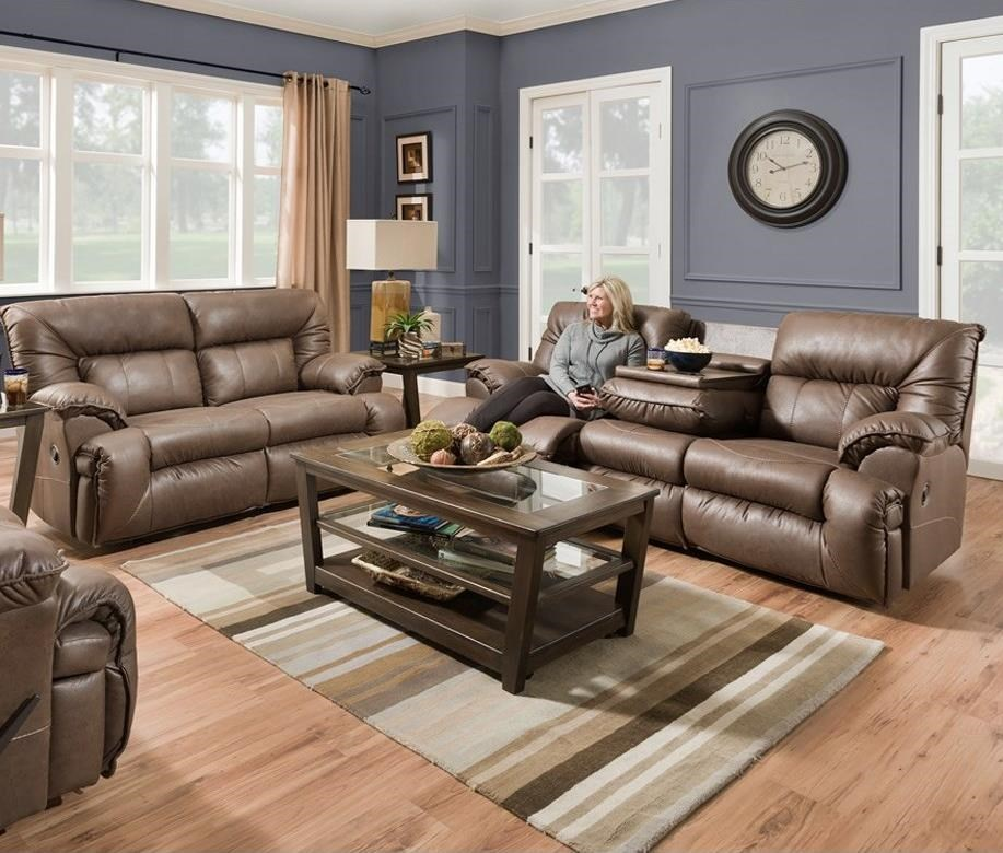 Henson Reclining Living Room Group by Franklin at Catalog Outlet
