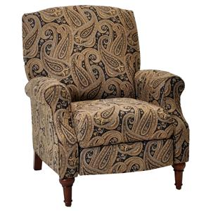 Kate Traditional Styled High Leg Reclining Chair