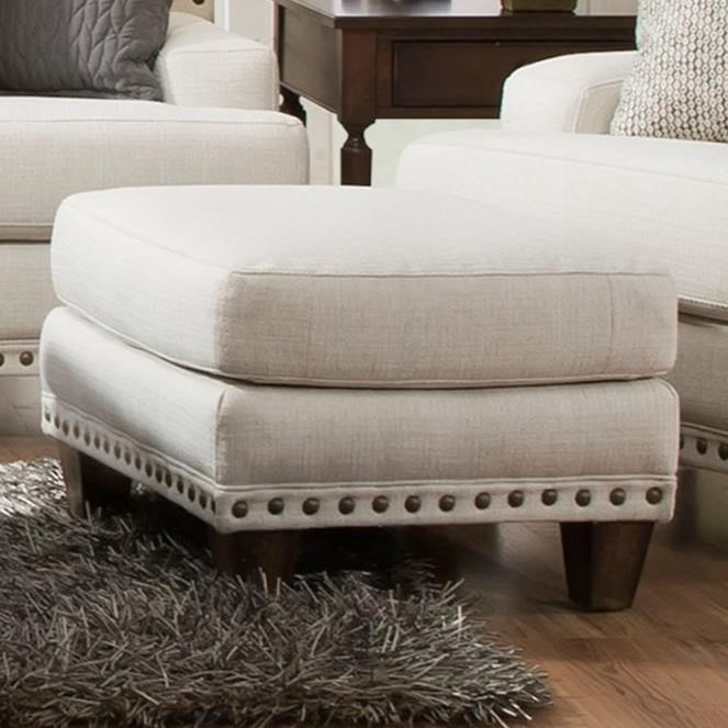 Monty Ottoman by Franklin at Wilcox Furniture