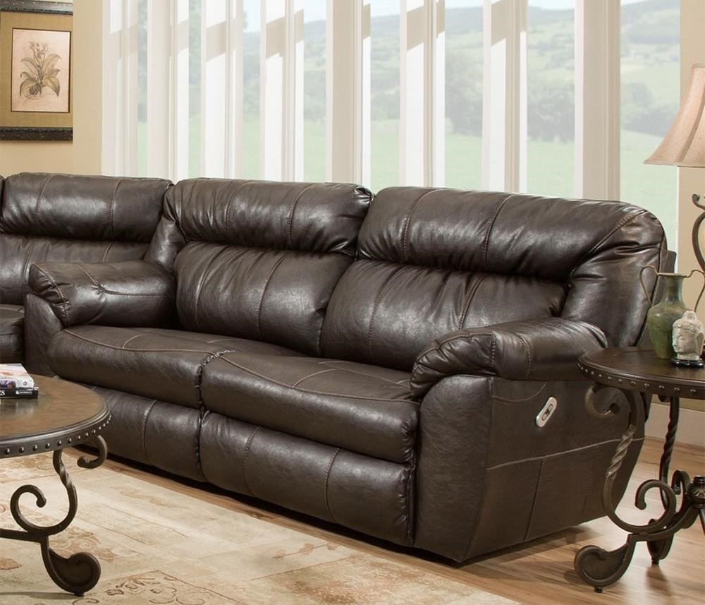 Lewis Power Reclining Sofa by Franklin at Catalog Outlet