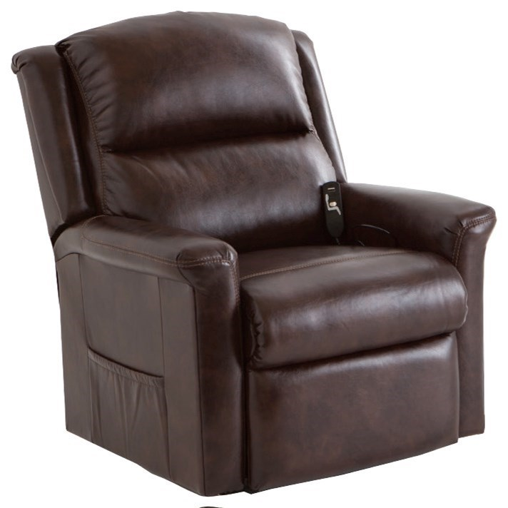 Lift and Power Recliners Province Lift Recliner with Power Lumbar by Franklin at Wilcox Furniture