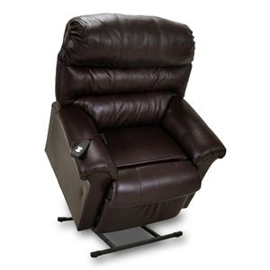 Power Recliner with Plush Pillow Arms