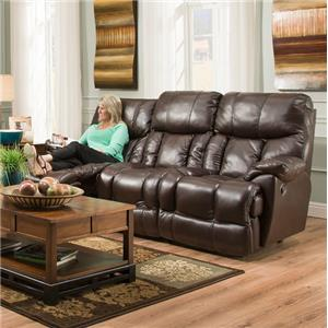POWER Reclining Sofa with Extra Tall and Wide Seats