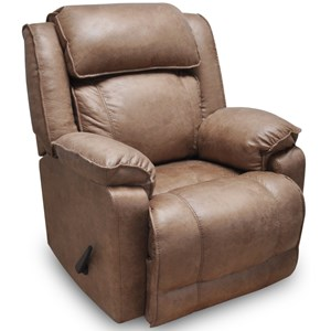 Power Rocker Recliner with Integrated USB Port