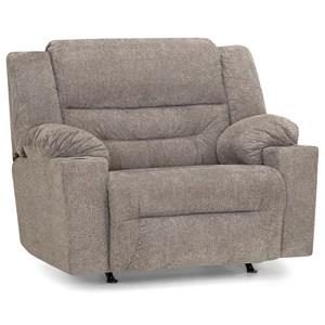 Rocking Snuggler Recliner with Cupholder