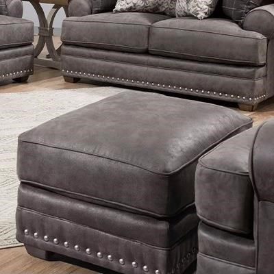 McClain Ottoman by Franklin at Virginia Furniture Market
