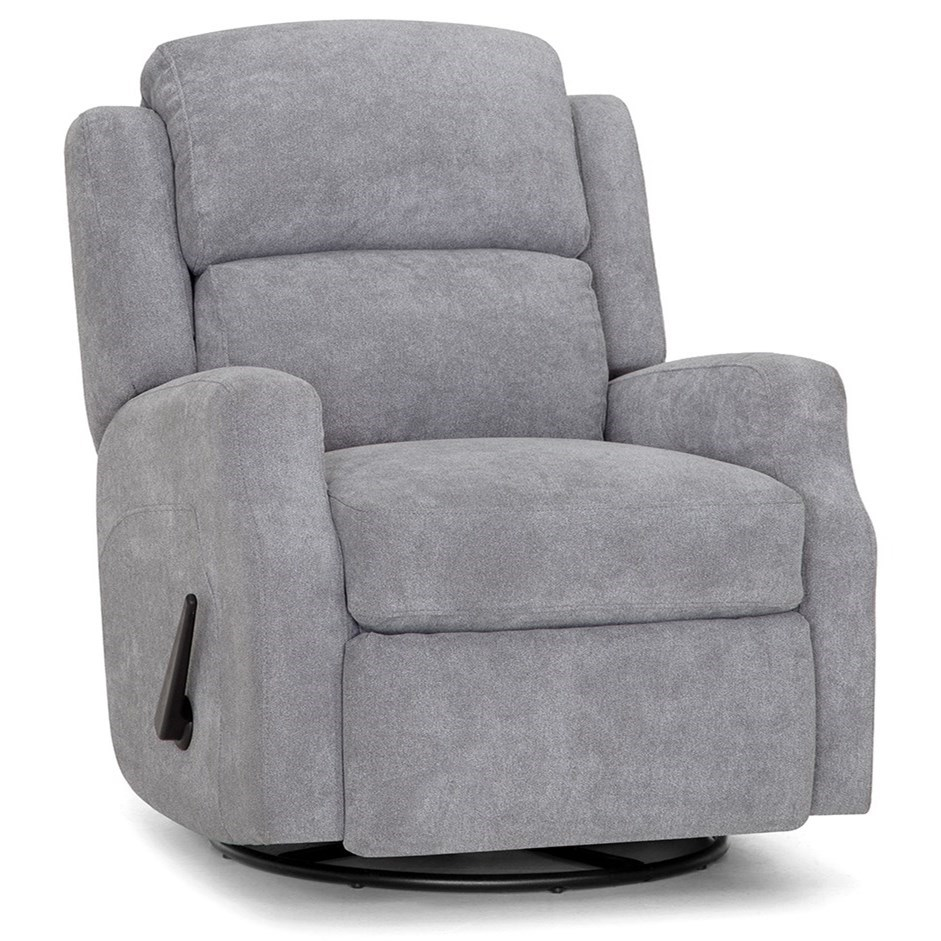 Franklin Recliners Duchess Swivel Glider Recliner by Franklin at Wilcox Furniture