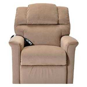 Trinity Lift Recliner with Casual Style and Remote