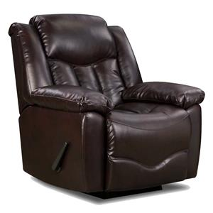 Recliner with Casual Style