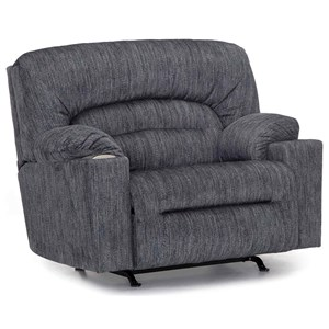 Casual Recliner with USB Ports