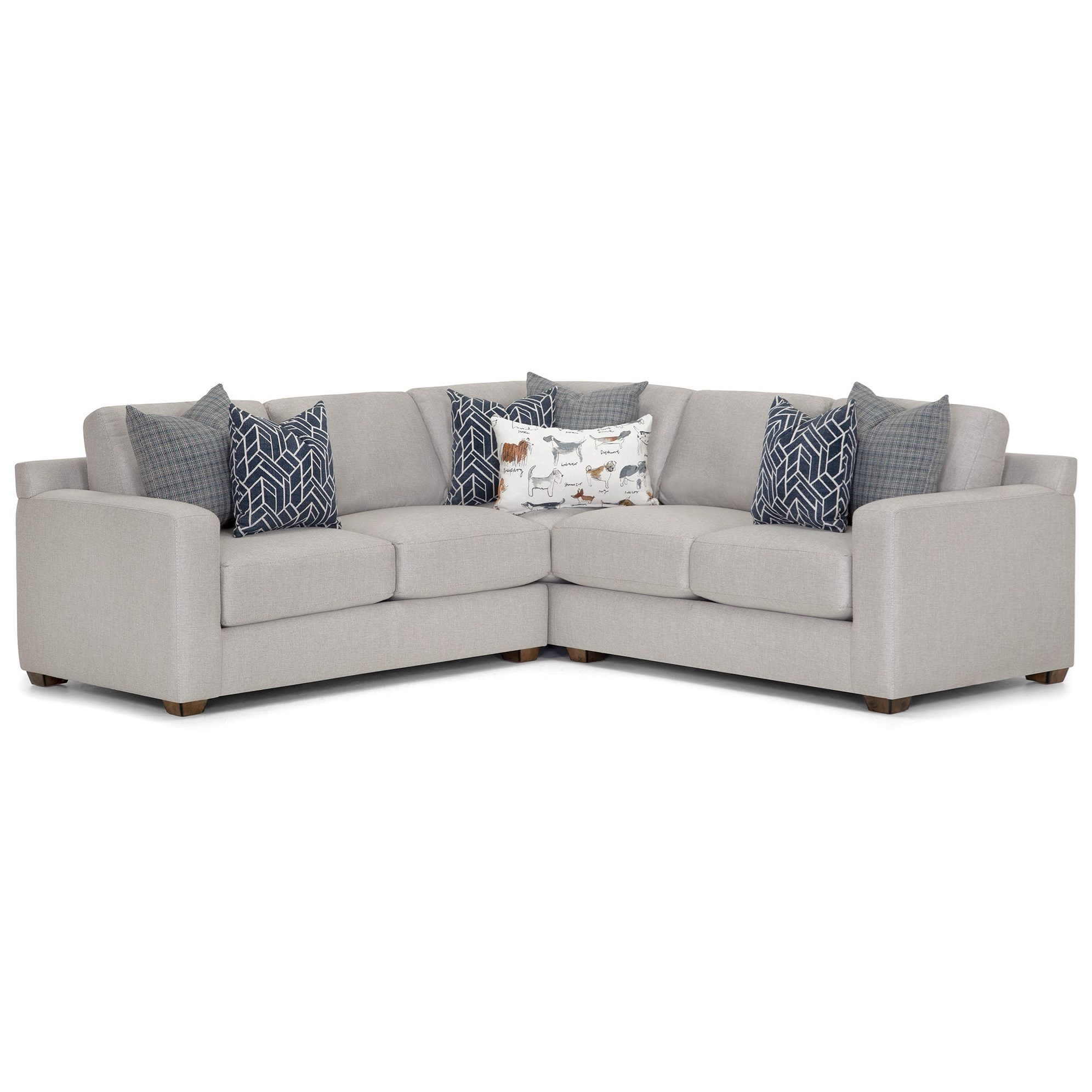 Oscar L-Shaped Sectional at Bennett's Furniture and Mattresses