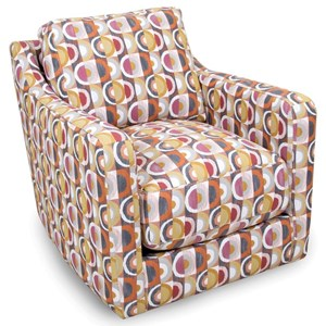 Swivel Chair with Contemporary Style