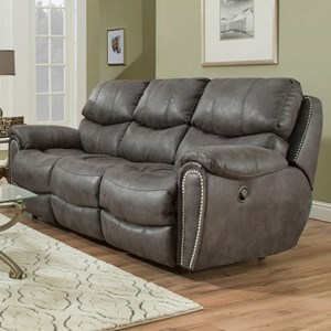Power Reclining Sofa with USB Charging Port