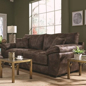 Two Seat Sofa with Pillow Arms