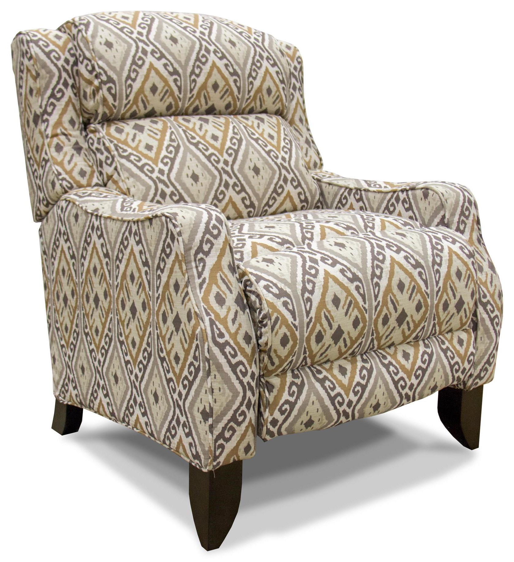 Taupe Push Back Recliner