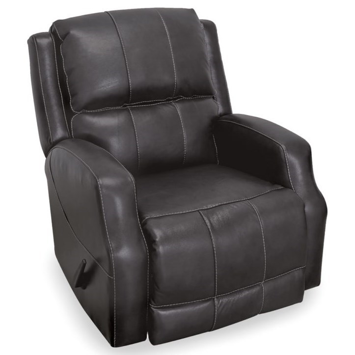 Vibes Swivel Rocker Recliner by Franklin at Wilcox Furniture