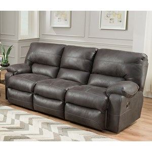 Power Reclining Sofa with USB Ports