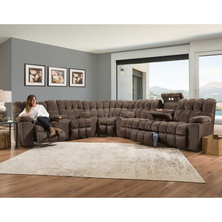 Westwood Reclining Sectional by Franklin at Catalog Outlet