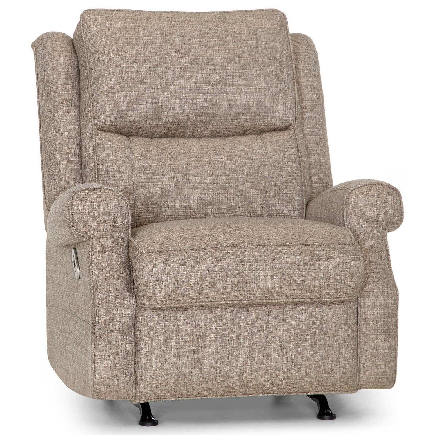 Windham Dual Power Rocker Recliner with USB Port by Franklin at Catalog Outlet
