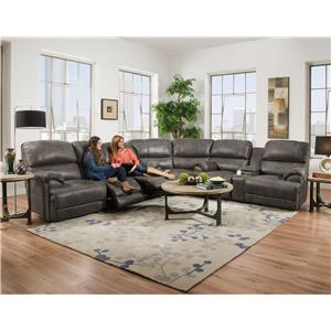 Franklin York Reclining Sectional Sofa