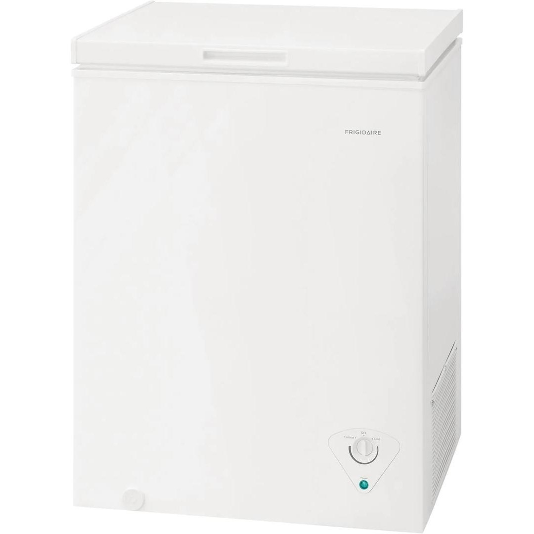 Chest Freezers 5 Cu. Ft. Chest Freezer by Frigidaire at Furniture and ApplianceMart