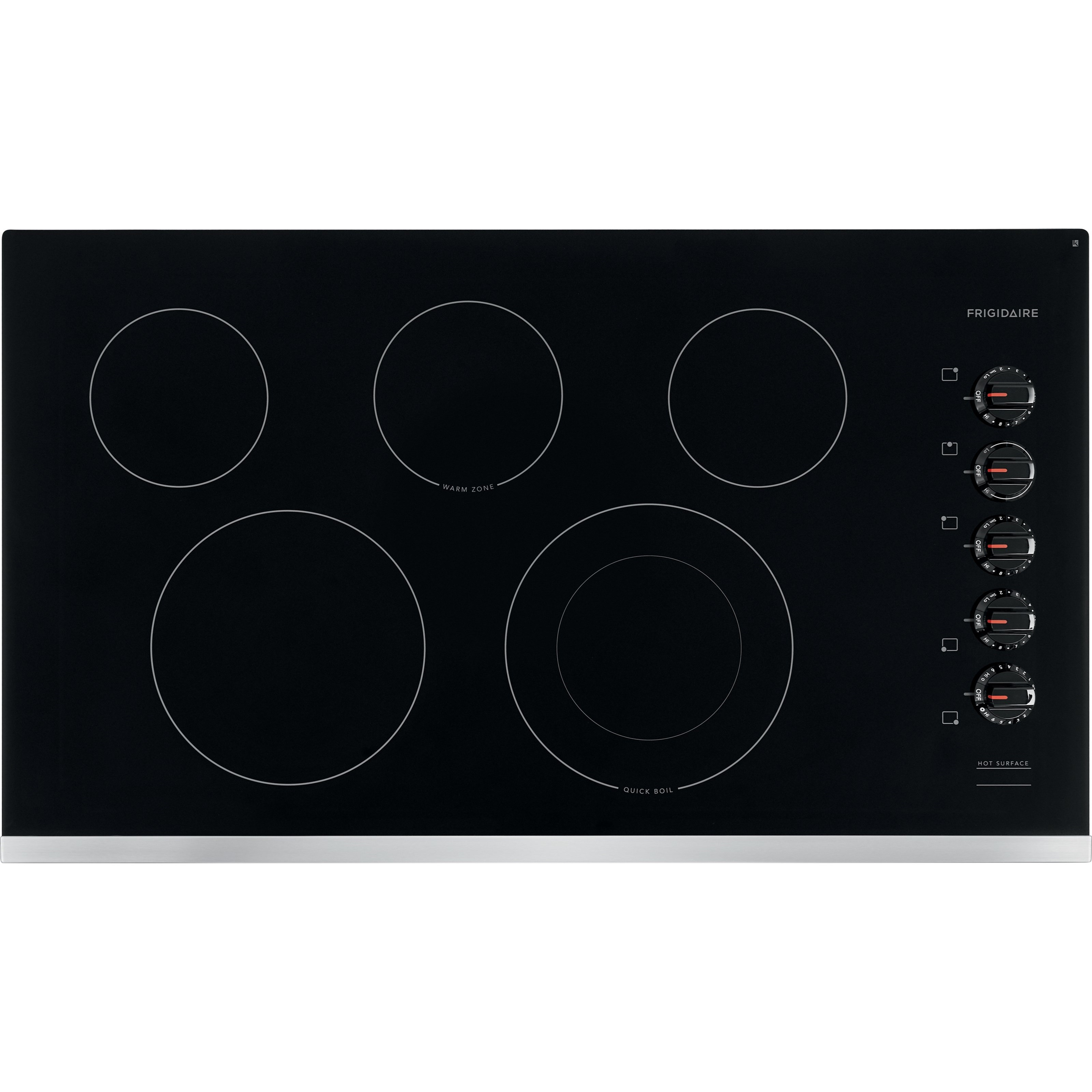 """Electric Cooktops 36"""" Electric Cooktop by Frigidaire at Furniture and ApplianceMart"""