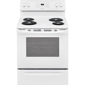 "30"" Electric Range with 4 Coil Elements"