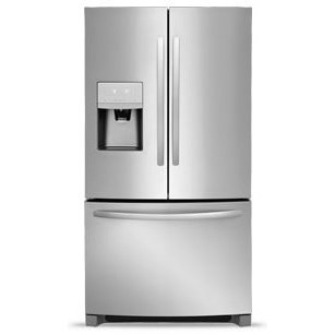 French Door Refrigerators 27.2 Cu. Ft. French Door Refrigerator by Frigidaire at Fisher Home Furnishings