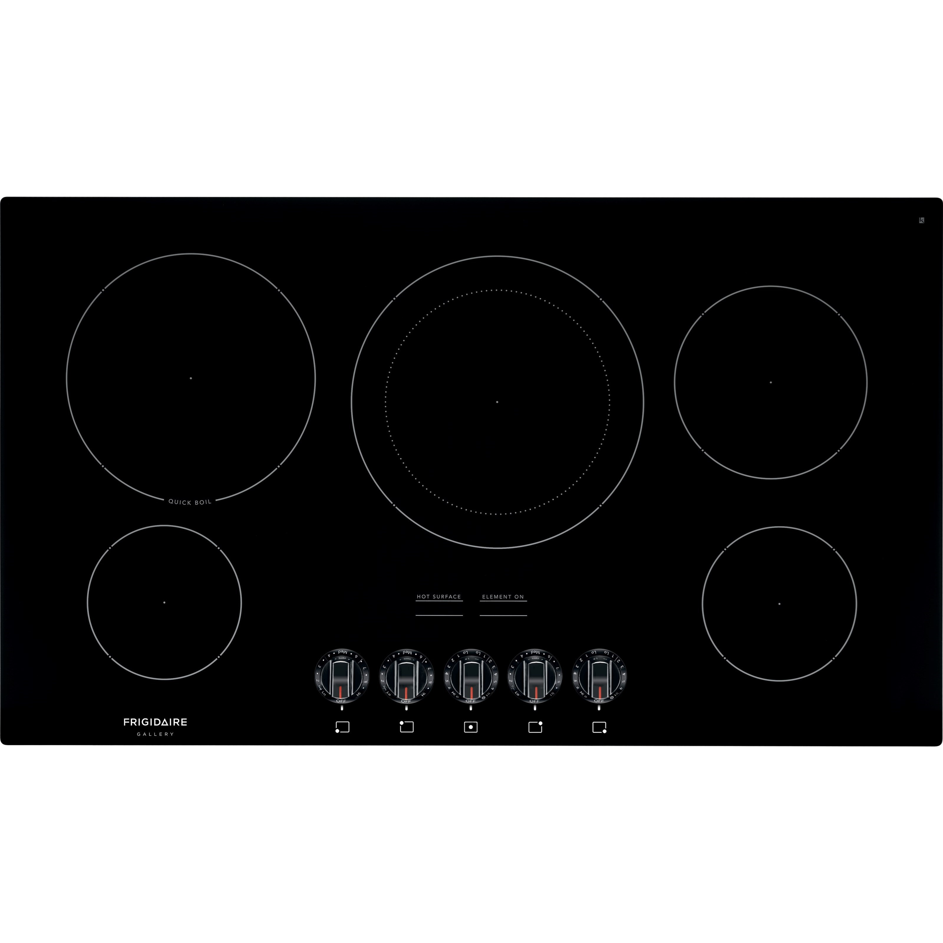 """Frigidaire Gallery Electric Cooktops 36"""" Electric Cooktop by Frigidaire at Fisher Home Furnishings"""