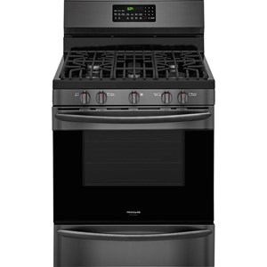 "30"" Gallery Smudge-Proof Gas Range with True Convection"
