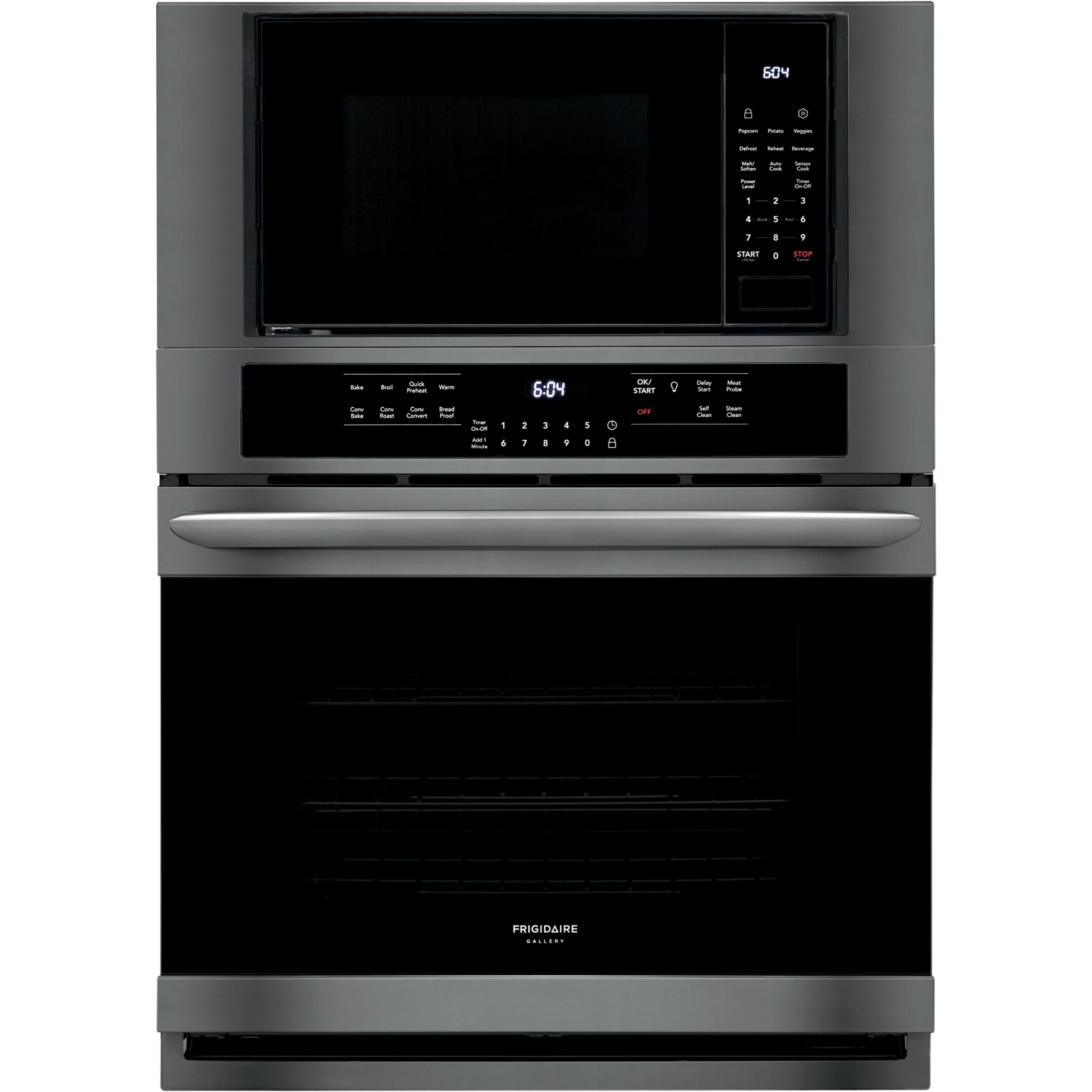 """Frigidaire Gallery Ovens 30"""" Electric Wall Oven/Microwave Combination by Frigidaire at Wilcox Furniture"""